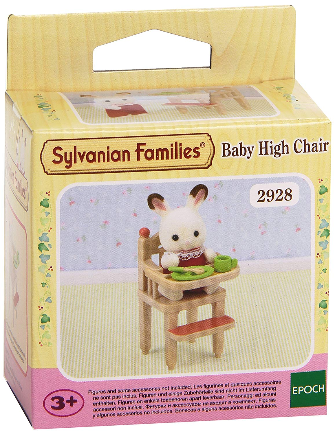 Sylvanian Families BABY HIGH CHAIR – SPEELGOED