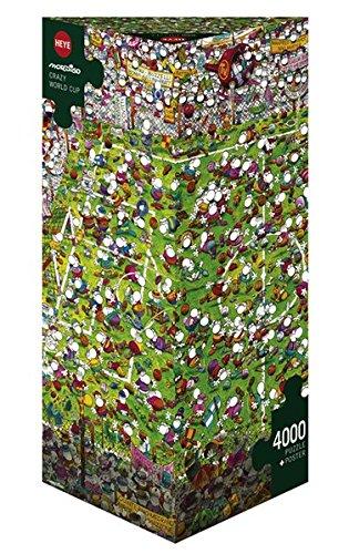Mordillo 29072 Puzzle – Crazy World Cup (4000pcs)