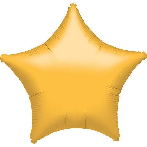 Metallic Gold Star Foil Balloon (uninflated)