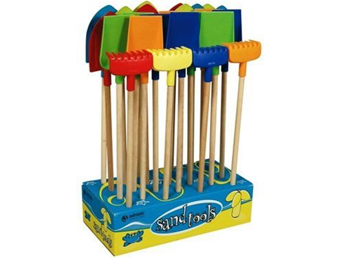 Adriatic  Beach Toys Shovels and Rakes in a Display (1-Piece) Assorted Colors