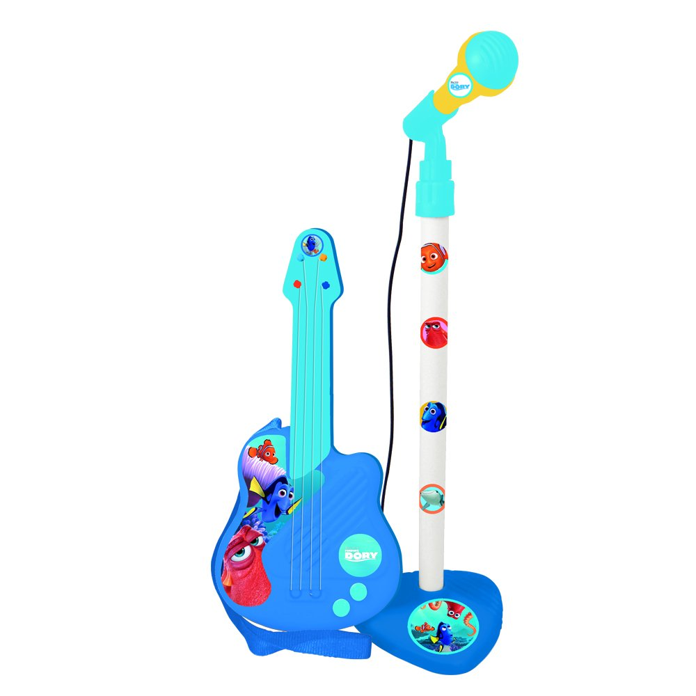 Finding Dory 5471 Guitar and Microphone