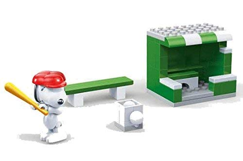 Banbao 7531 Snoopy Baseball Field, Multi-Colour