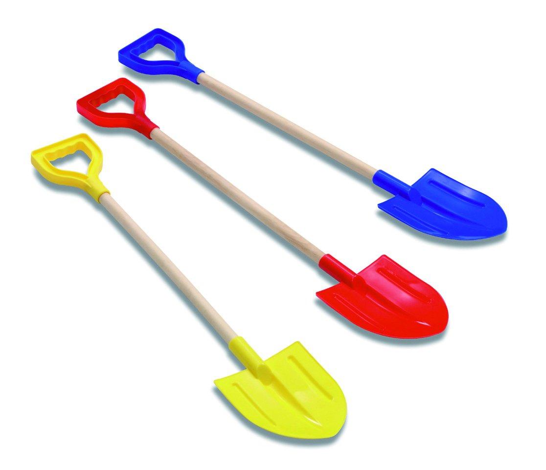 Adriatic (ADRLO) 122 Adriatic 73 cm. Shovel with Wood Handle, Multi-Colour