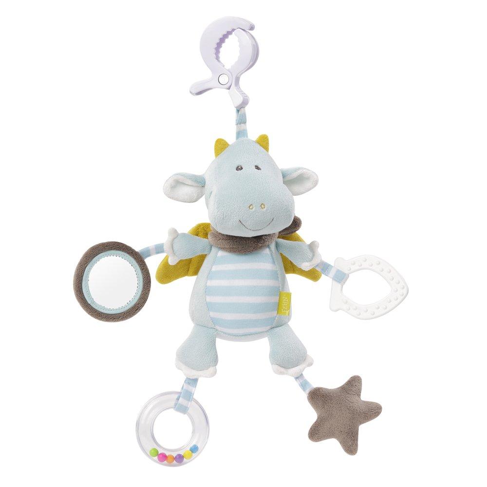 065121Fehn Activity Little Castle Dragon Cuddly Toy (Blue)