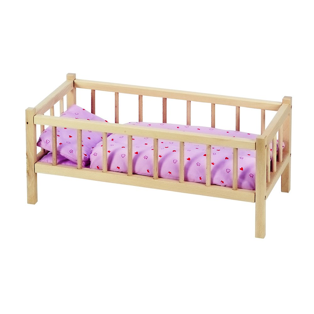 GoKi Doll's Wooden Bed