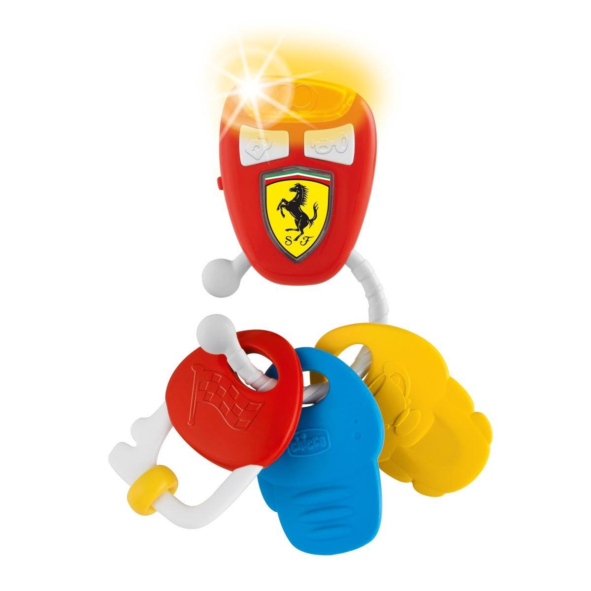 Chicco 00009564000000 Electronic Ferrari Key Multi-Coloured