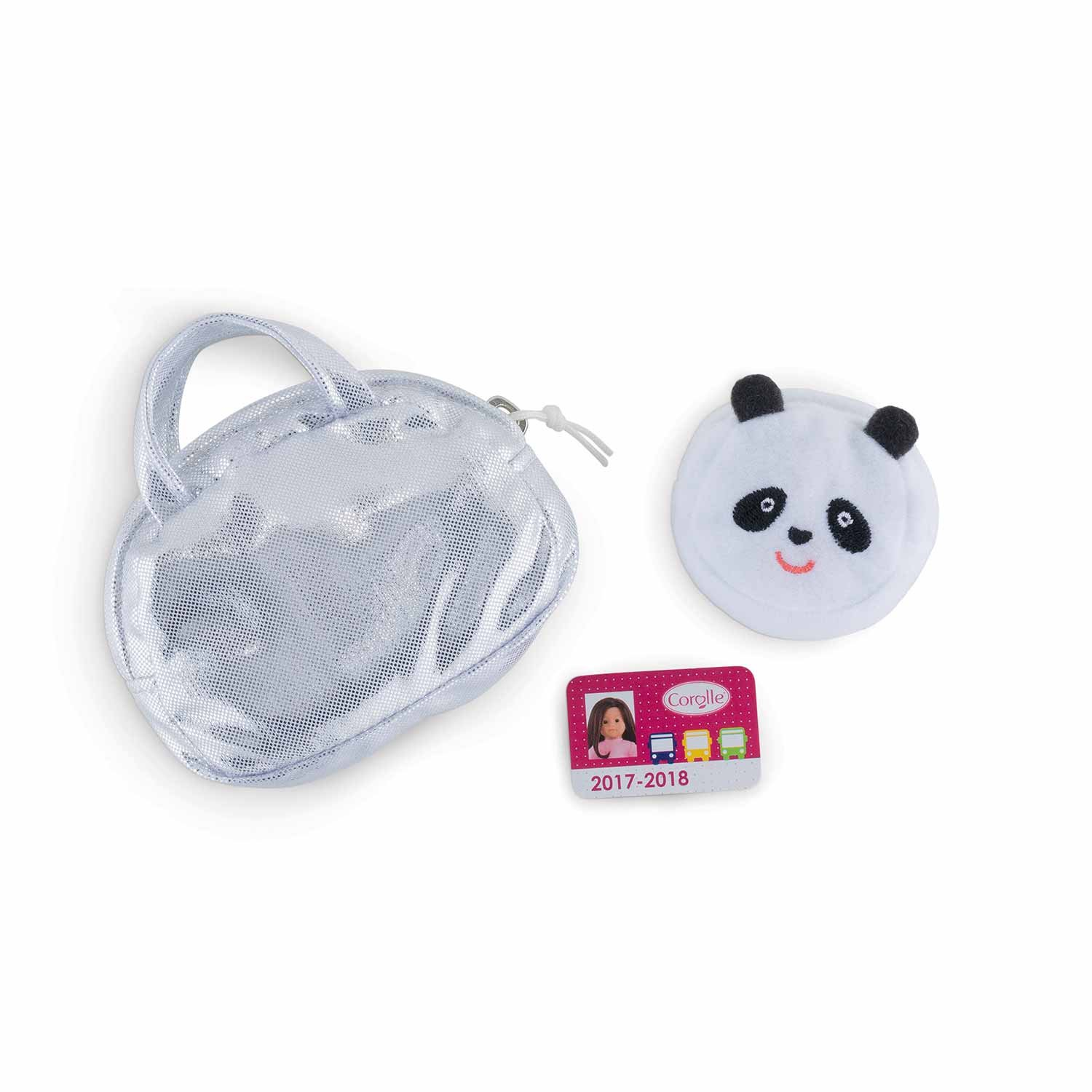 Corolle–Doll fpl08–Handbag Wallet–Bus Card for My