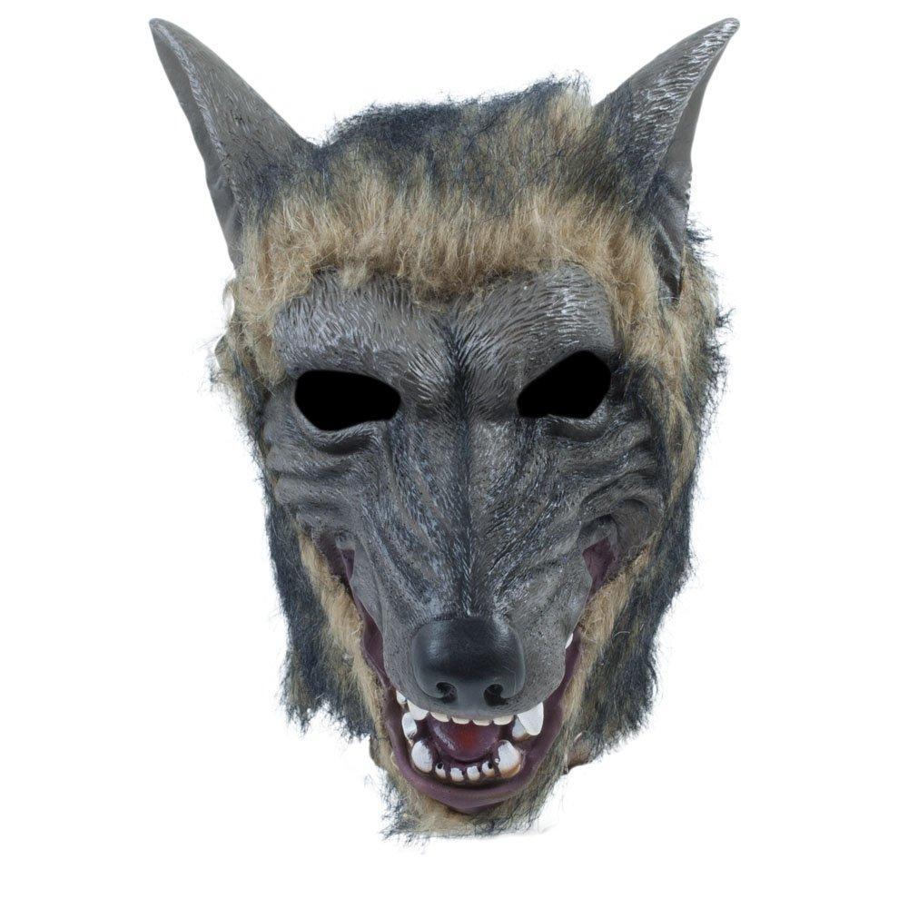 Bristol Novelty BM539 Wolf Mask, Unisex-Adult, One Size