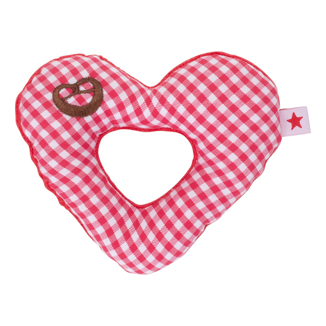 "'Fashy 12048 40 Mein Clutching Toy""Heart Red"