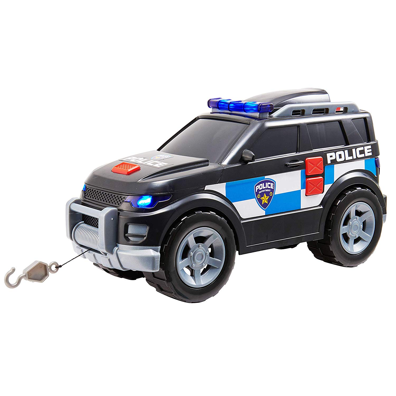 Teamsterz Large Light & Sound Police 4×4 | Kids Emergency Police Toy Vehicle Great For Children Aged 3+