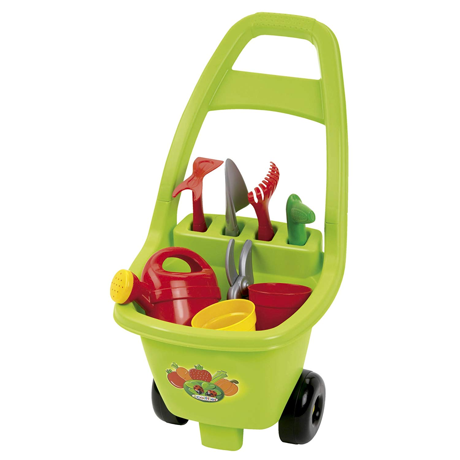 Écoiffier E 04791 Trolley with Garden Tools