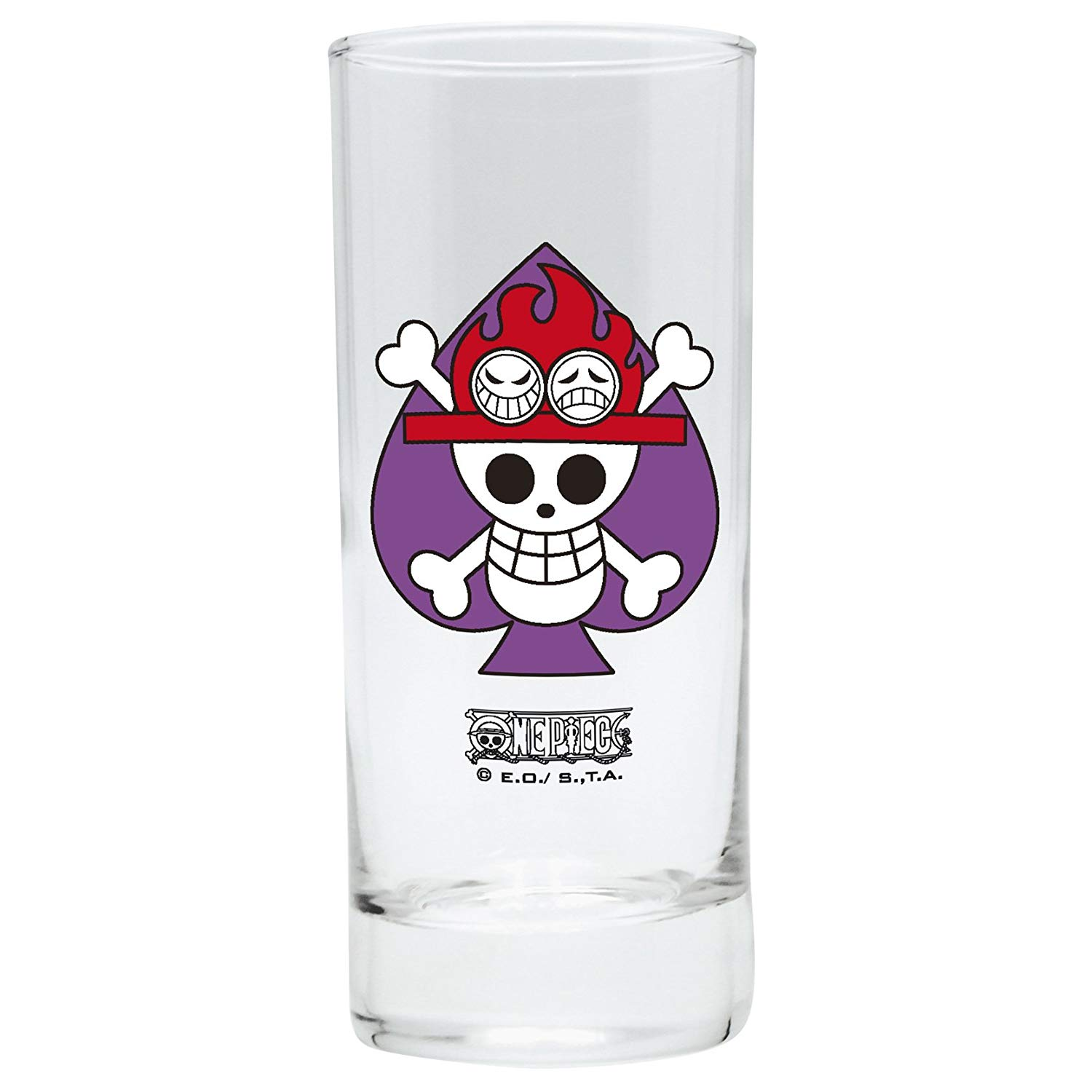 ABYstyle Abysse Corp_ABYVER077 One Piece-Glass Ace X2, Multi Colour