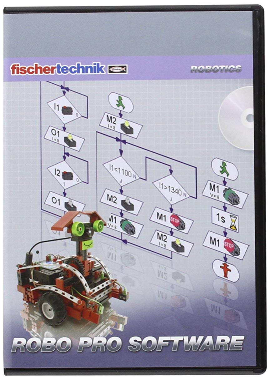 Fischertechnik Computing Plus ROBO Pro Software for Windows