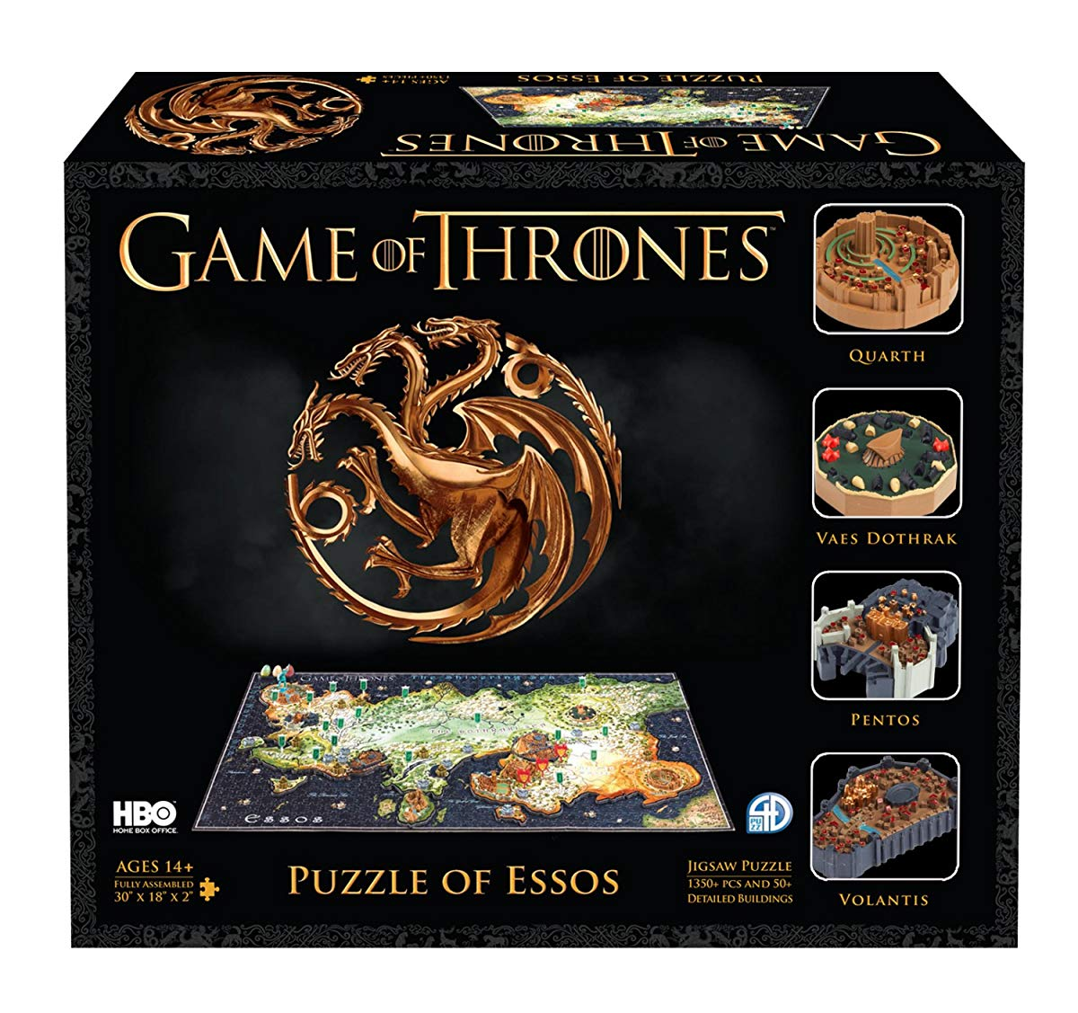 4D Cityscape 51002 Game of Thrones/Essos 3D Puzzle