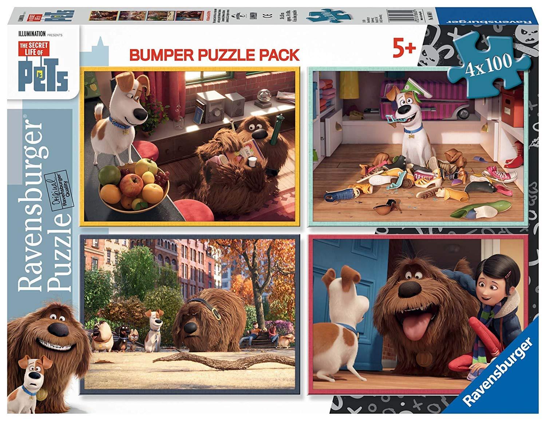 4 Puzzles – The Secret Life of Pets