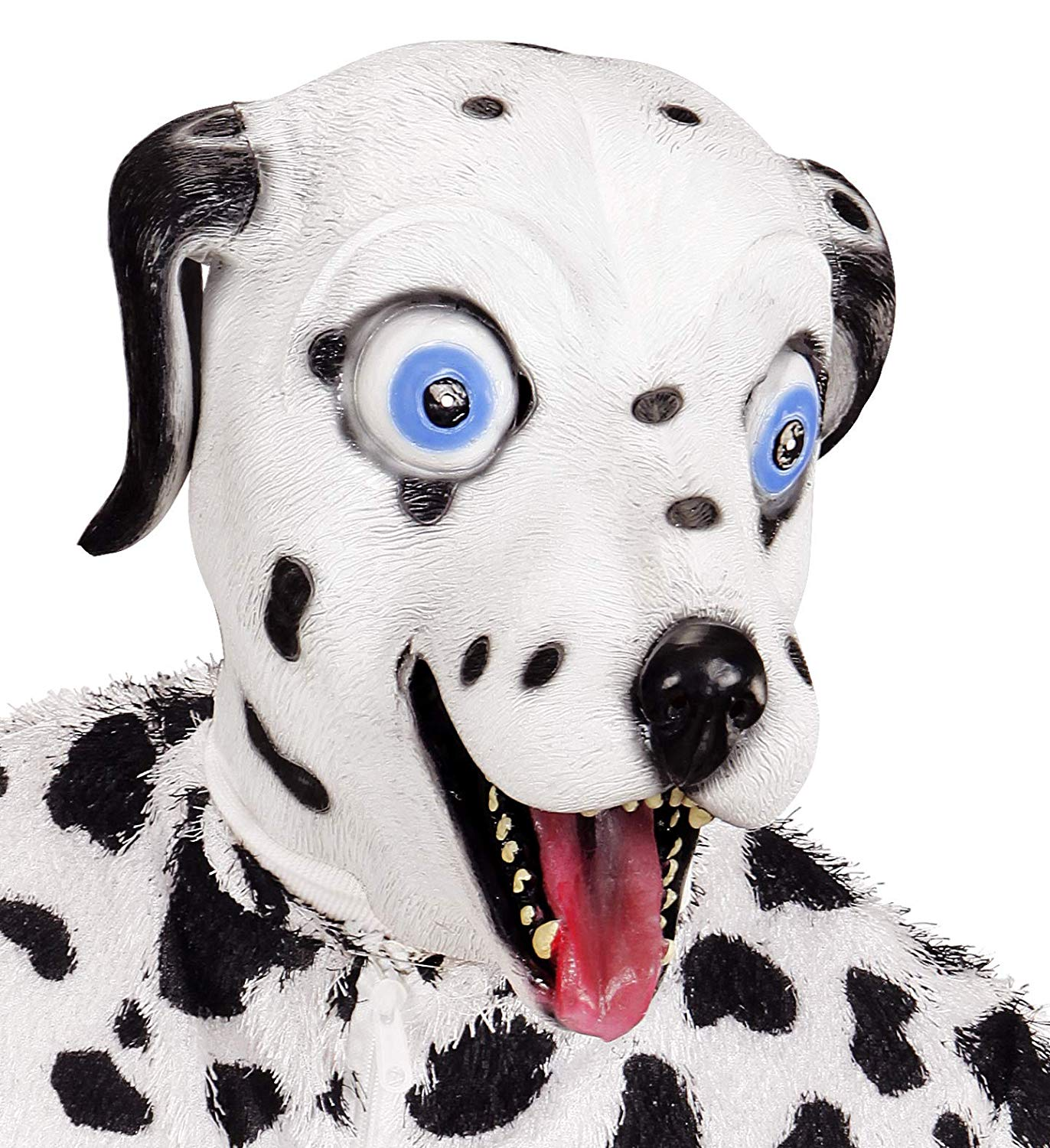 Animal Dalmation Full Head Mask Dog Stag Do Fancy Dress Accessory Adult