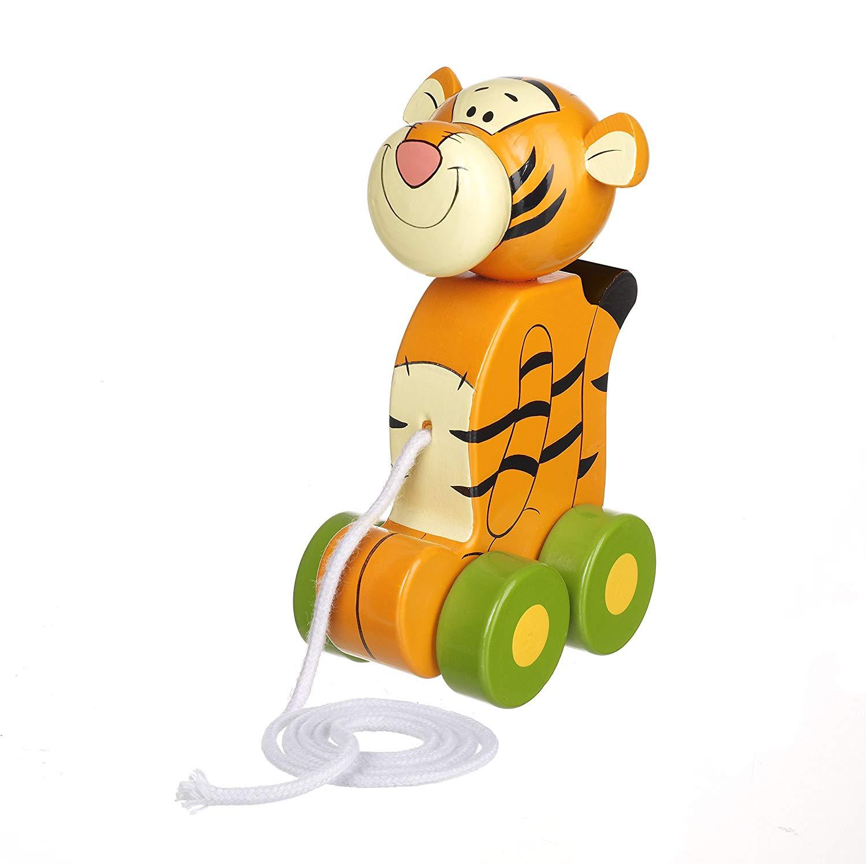 Orange Tree Toys Disney Tigger Winnie-the-Pooh Pull Along,