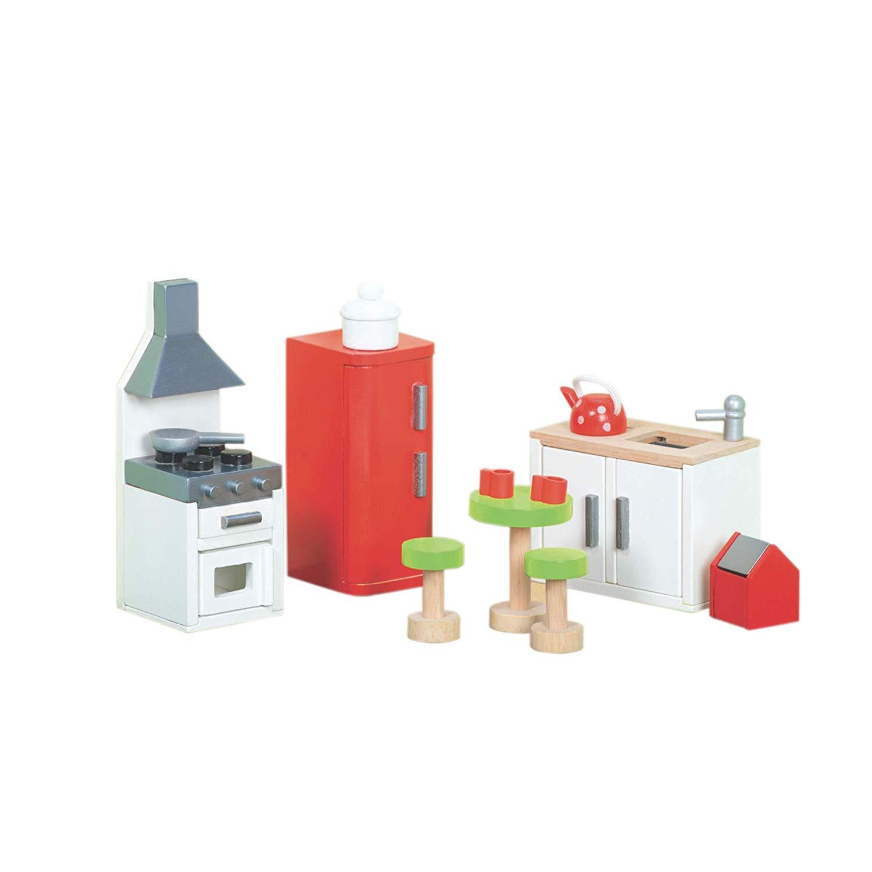 Le Toy Van Wooden Doll's House Furniture Sugar Plum – Kitchen Set