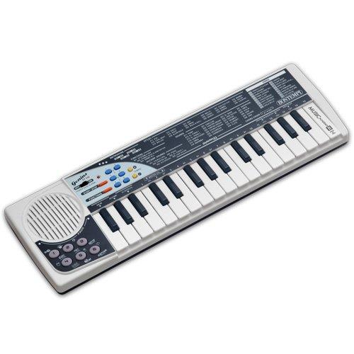 Bontempi 163219 32 Midi Keys DJ Keyboard, Multi-Color