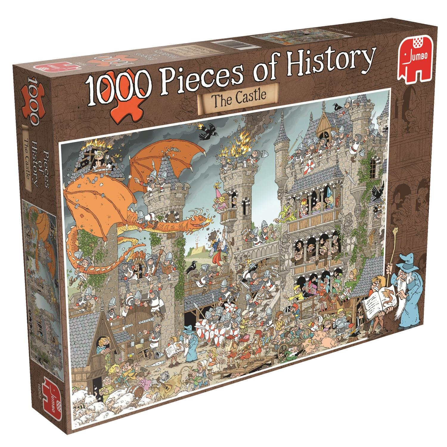 1000 Pieces of History – The Castle Jigsaw Puzzle (1000-Piece)