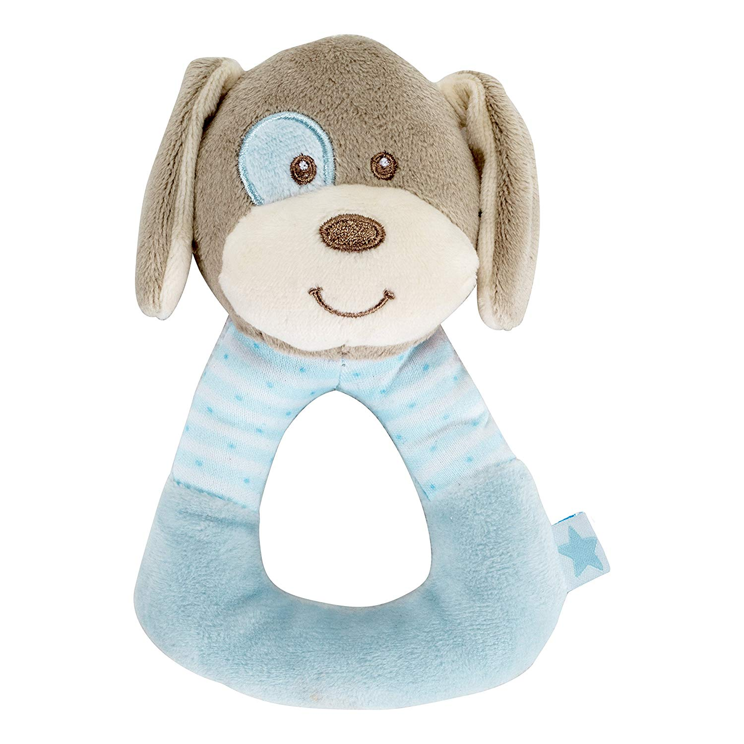 'Fashy 12045 51 Mein Clutching Toy Dog, Multi-Colour