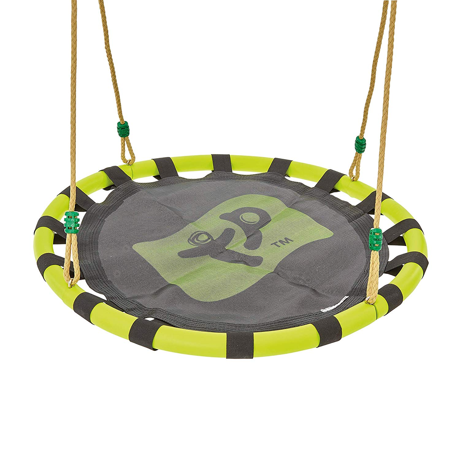 TP Toys 902 Nest Swing Seat (85 cm Diameter), Green and Black