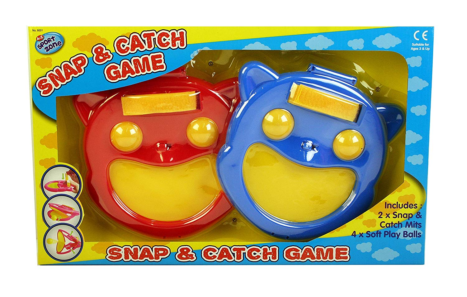 A to Z 08031 Snap and Catch Game