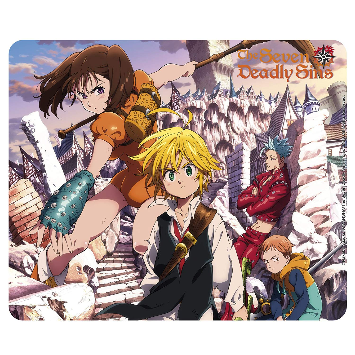 ABYstyle – The Seven Deadly Sins – Mousepad – Group