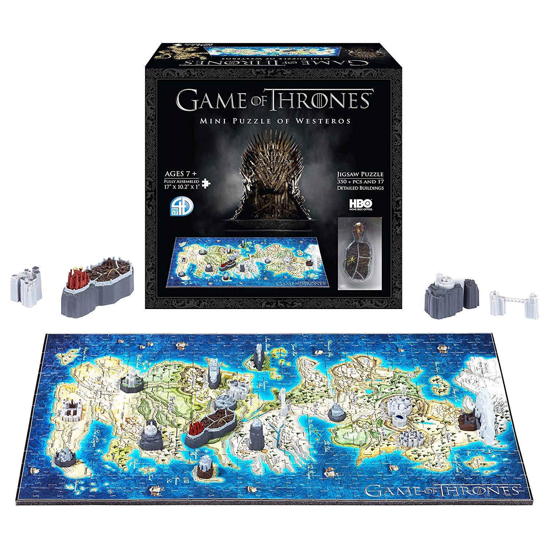 4D Cityscape 51001 Game of Thrones/Mini Westeros 3D Puzzle