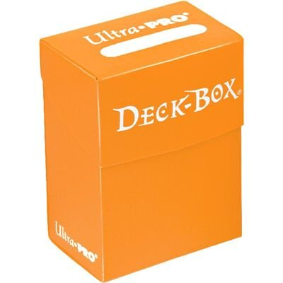 Ultra Pro Orange Deck Box