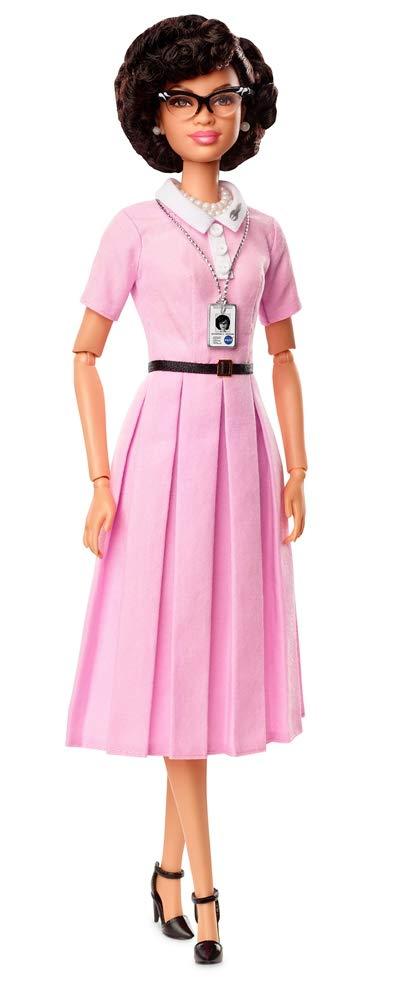 Barbie Collector FJH63 Inspiring Women Series Katherine Johnson Doll, Multi-Colour
