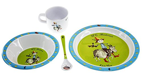Barbo Toys Barbo Toys6219 Barba Toys HCA Melamine Set with 4 Pieces, Multi-Color