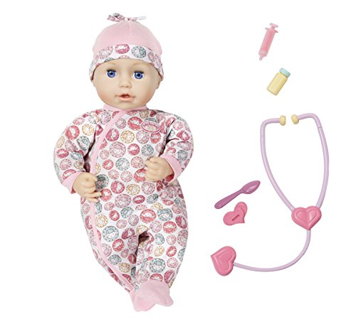 Baby Annabell 701294 Milly Feels Better Nurturing Doll