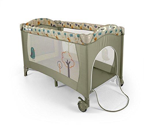 MILLY MALLY 21254 Mirage Bird Crib/Playpen, Grey
