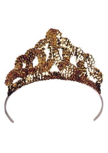 Cesar–a358-001Glitter Tiara–costume accessory–Gold
