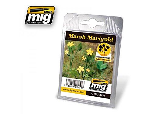AMMO MIG-8451 Marsh Marigold Laser Cut Plants, Multicolour