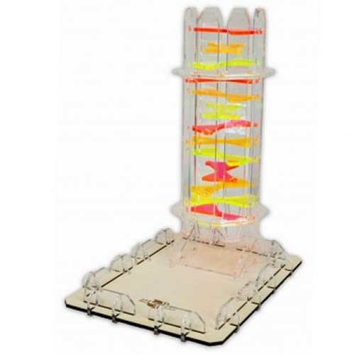 Blackfire BF07677 Dice Tower-Candy Twister, Multi