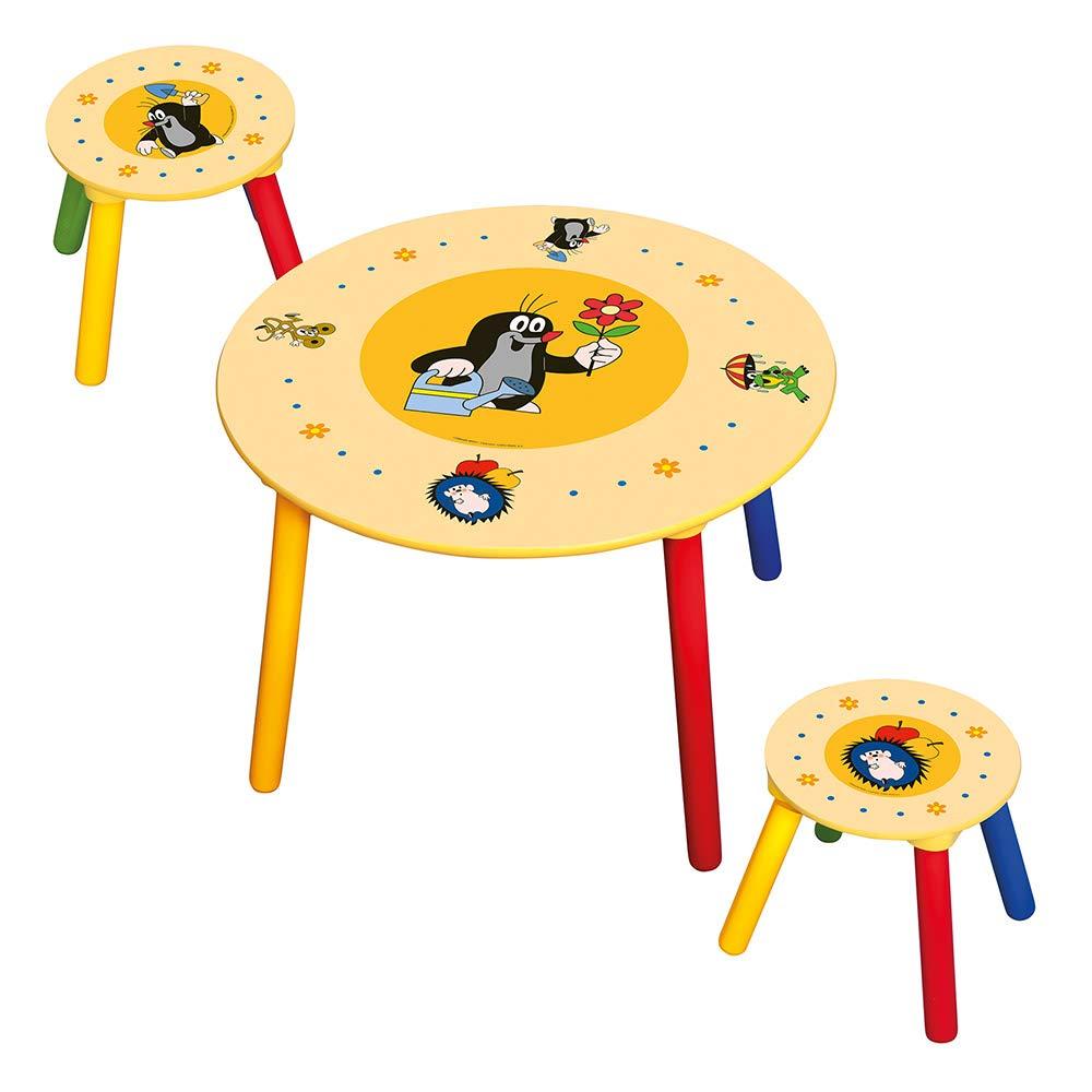 Bino 83410 Children's Table, 2 Seats, Little Boy, Multicolour
