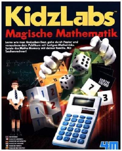 "4M ""Math Magic Tricks and Game (Multi-Colour)"