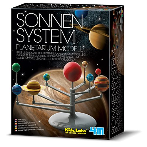 "4M ""Kidz Labs Solar System Planetarium Model (Multi-Colour)"