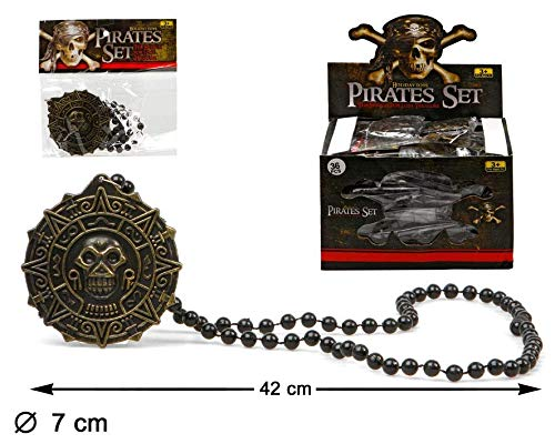 ATOSA 26622 Exp. Bag of 36 Pirate Necklaces 22 x 15 cm