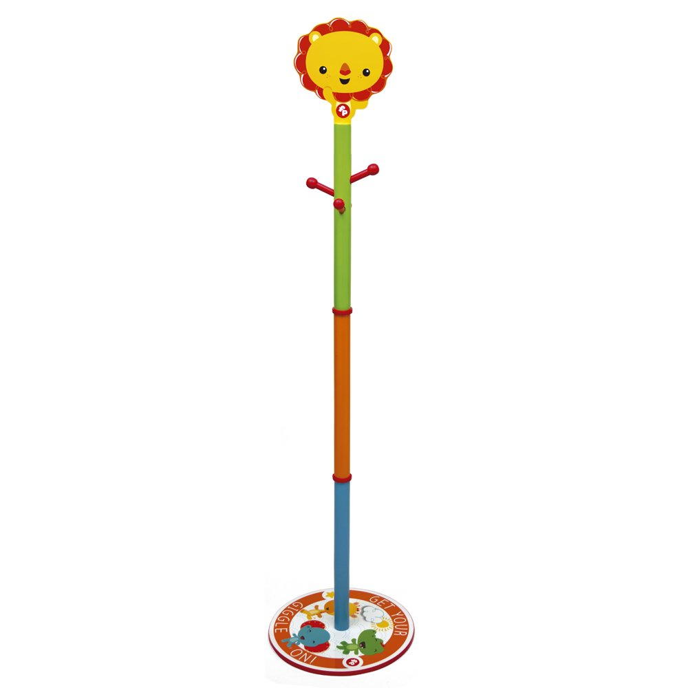 Arditex Fp-Wooden Tree Hanger in Colorbox, Wood Multicolor, 145×35.5×35.5 cm