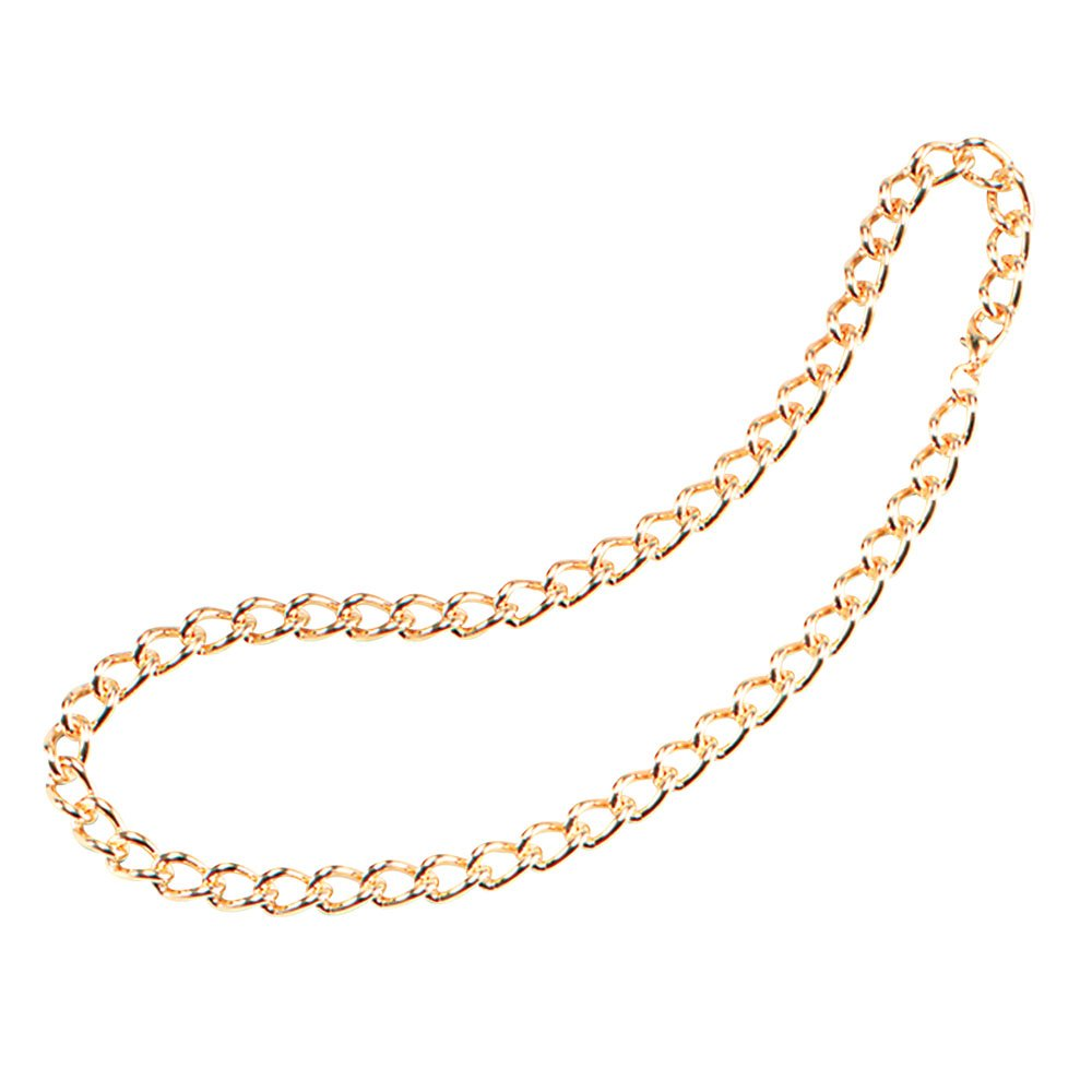 Bristol Novelty BA552 Heavy Duty Chain, Mens, Gold, One Size