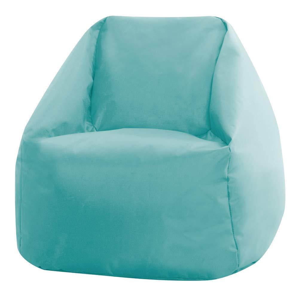 Bean Bag Bazaar Kids Hi-Rest Chair-Duck Egg Blue, Small Indoor Outdoor Childrens BeanBags