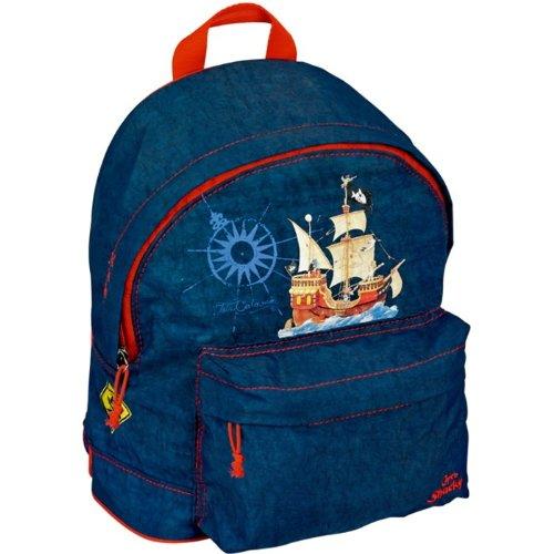 Capt'n Sharky Small Backpack, 20 x 25 x 10 cm, Model# 10979