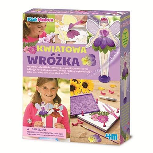 4M 404731 Pressed Flower Fairy Craft Kit, Multi-Colour