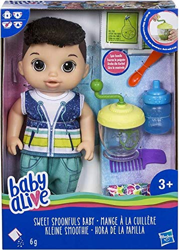 Baby Alive Sweet Spoonfuls Baby Doll Boy Brunette