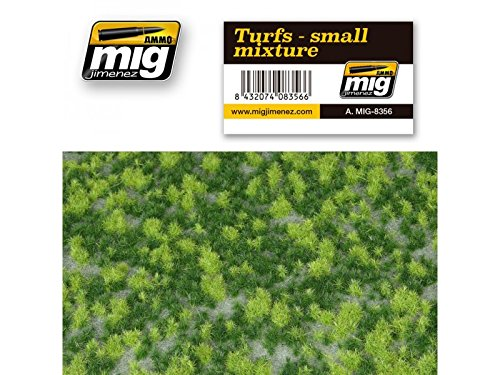 AMMO MIG-8356 Turfs-Small Mixture Grass Mats, Multicolour
