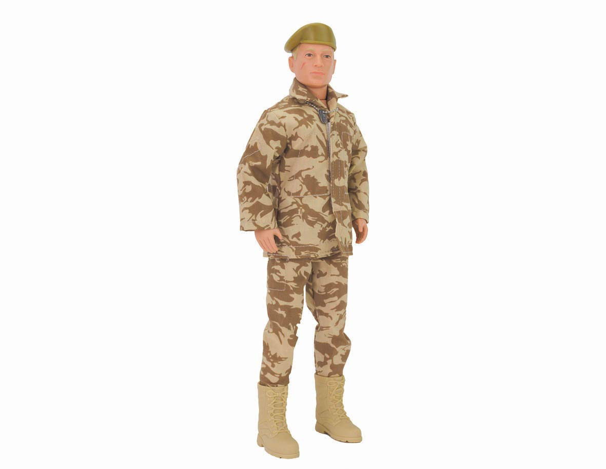 Action Man ACR02100 Soldier Action Figure, Nylon/A