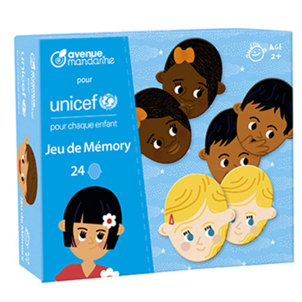 Avenue Mandarine Collection UNICEF, Memo, CO188C, Multicoloured